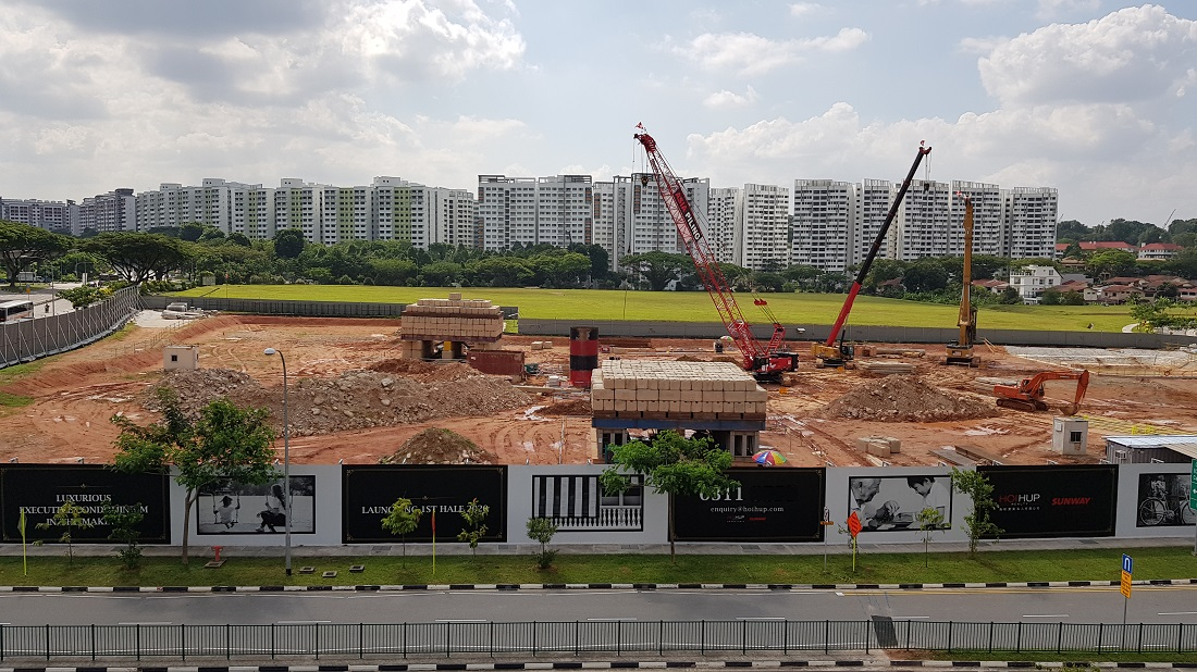 Canberra Link 1 EC at Sembawang Site Photo_100719