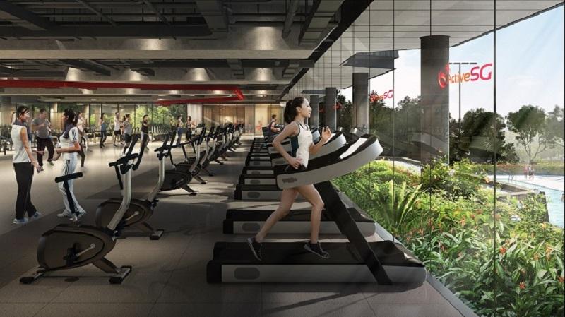 Bukit Canberra_ActiveSG Gym