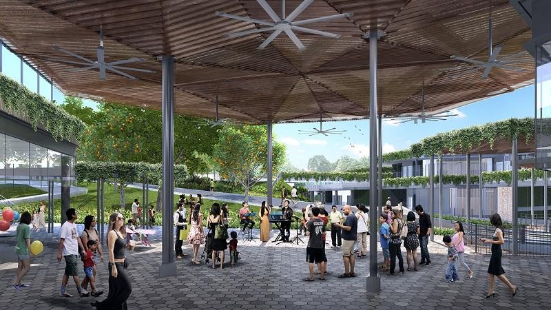 Bukit Canberra_Community Plaza