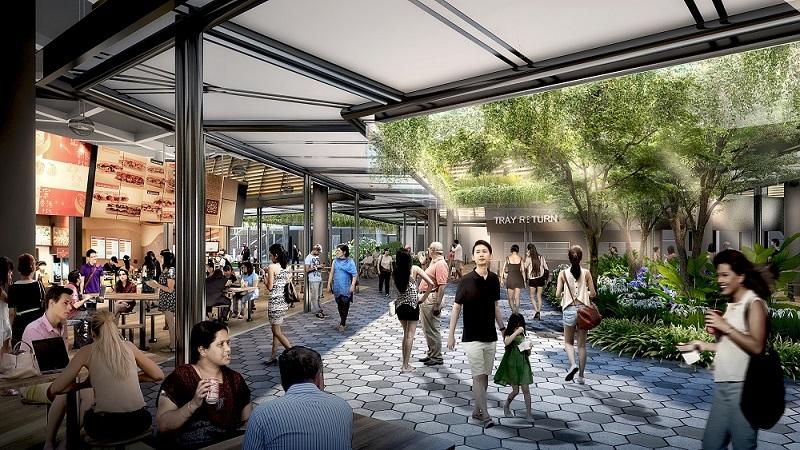 Bukit Canberra_Hawker Centre