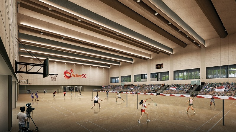 Bukit Canberra_Indoor Sports Hall