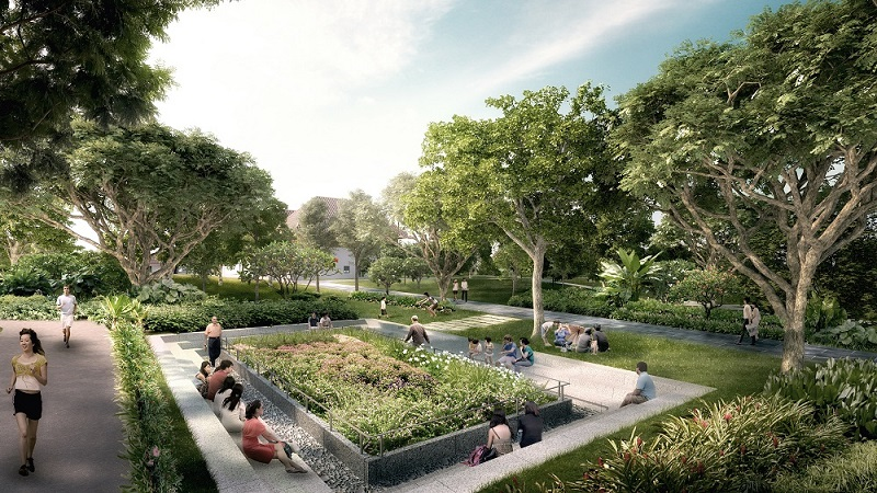 Bukit Canberra_Sunken Garden