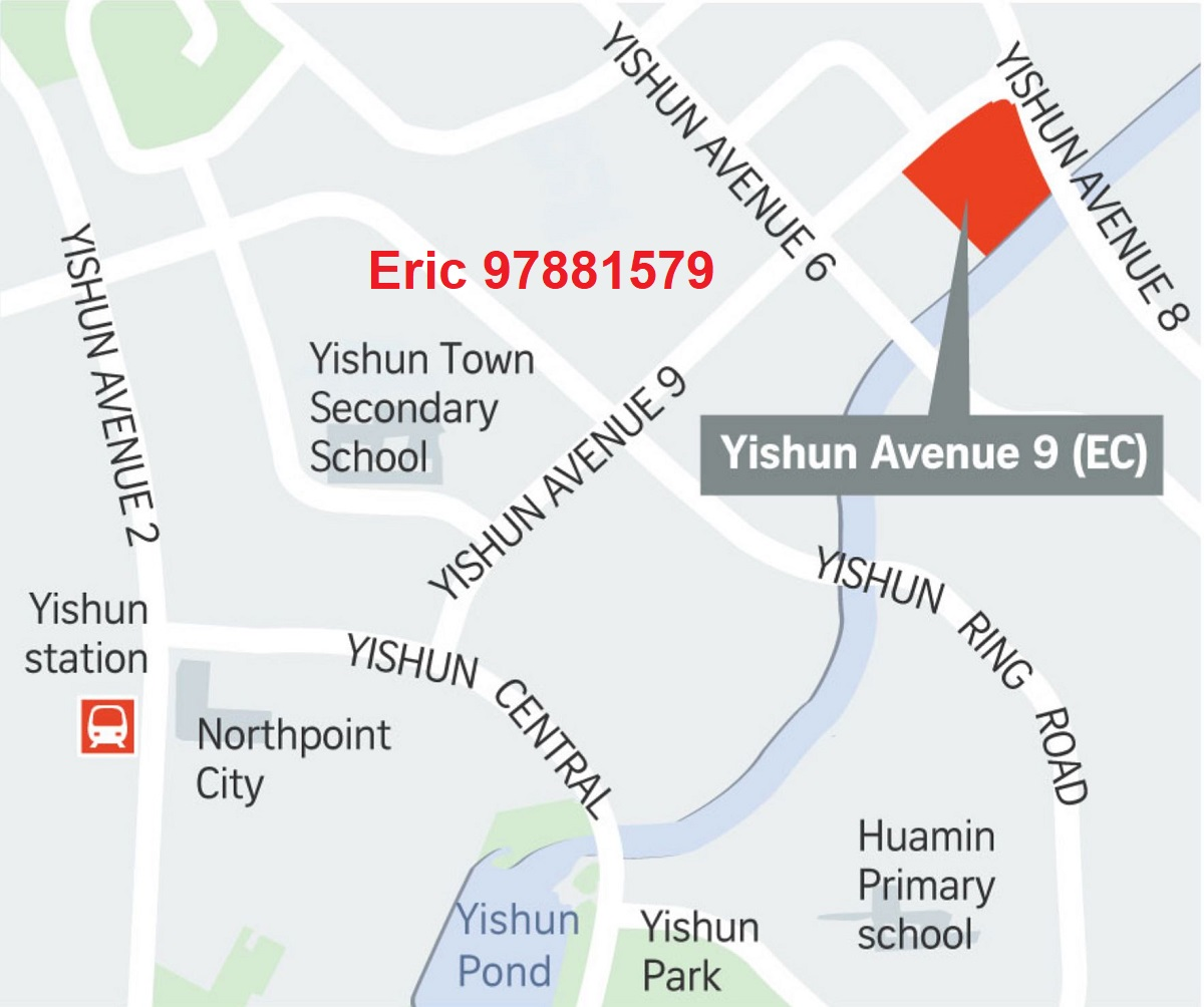 Yishun Ave 9 EC 2020 GLS Location Map