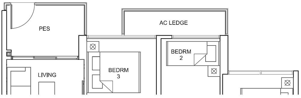Parc Canberra EC Floor Plan 3BR C1-G 76_818