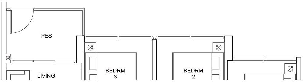 Parc Canberra EC Floor Plan 3BR C2-G 82_883