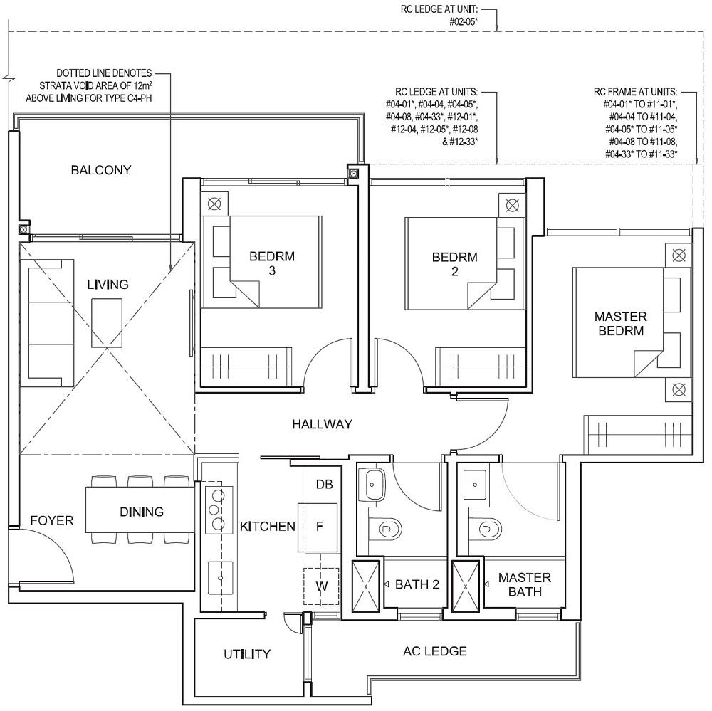 Parc Canberra EC Floor Plan 3_U C4 86_926