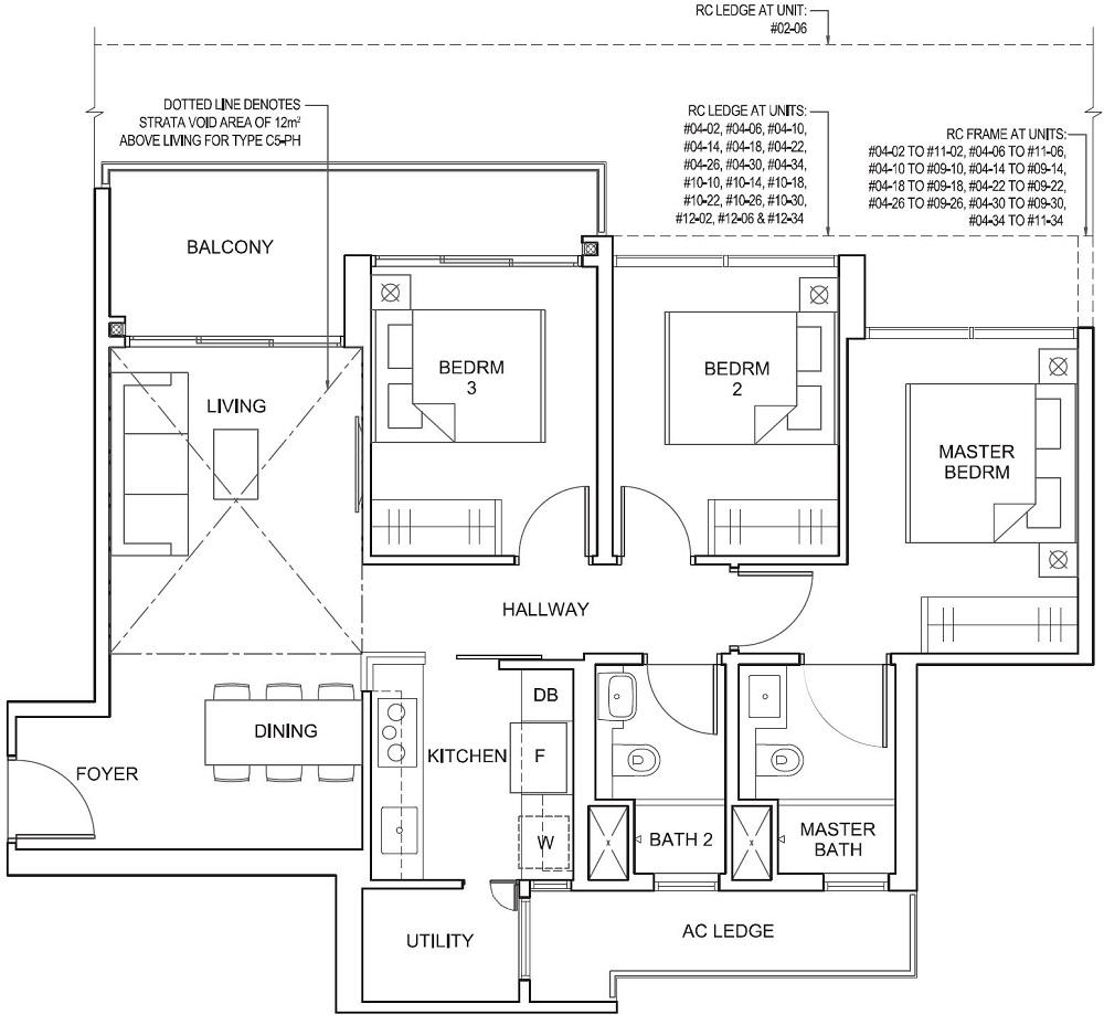 Parc Canberra EC Floor Plan 3_U C5 88_947