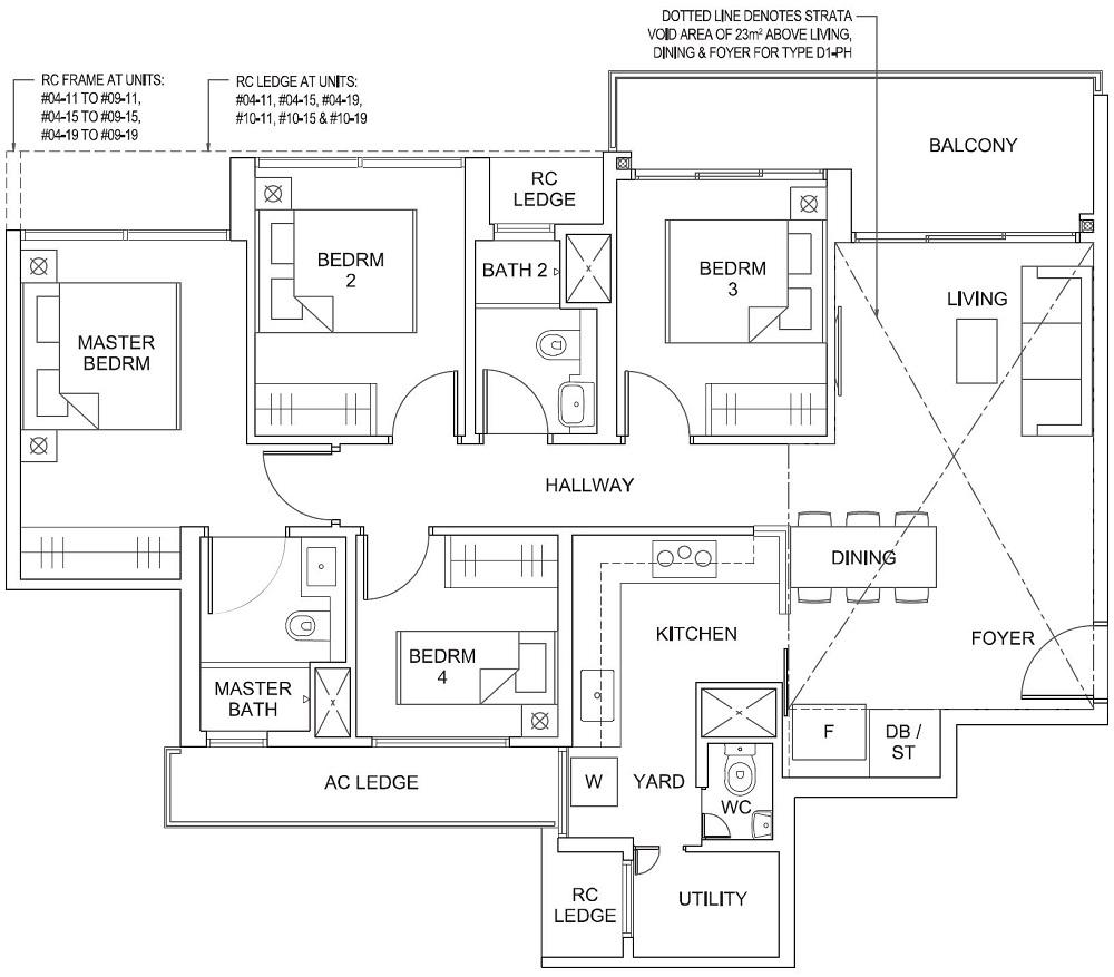 Parc Canberra EC Floor Plan 4_U_Y D1 107_1152