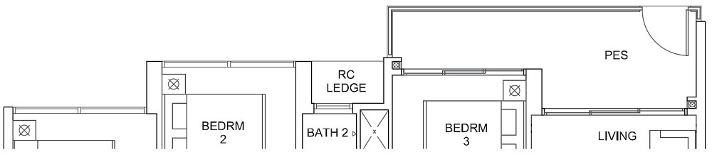 Parc Canberra EC Floor Plan 4_U_Y D1-G 107_1152