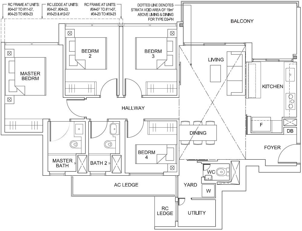 Parc Canberra EC Floor Plan 4_U_Y D2 110_1184