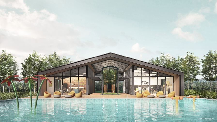 Parc Canberra EC Club House at Sembawang Canberra Link