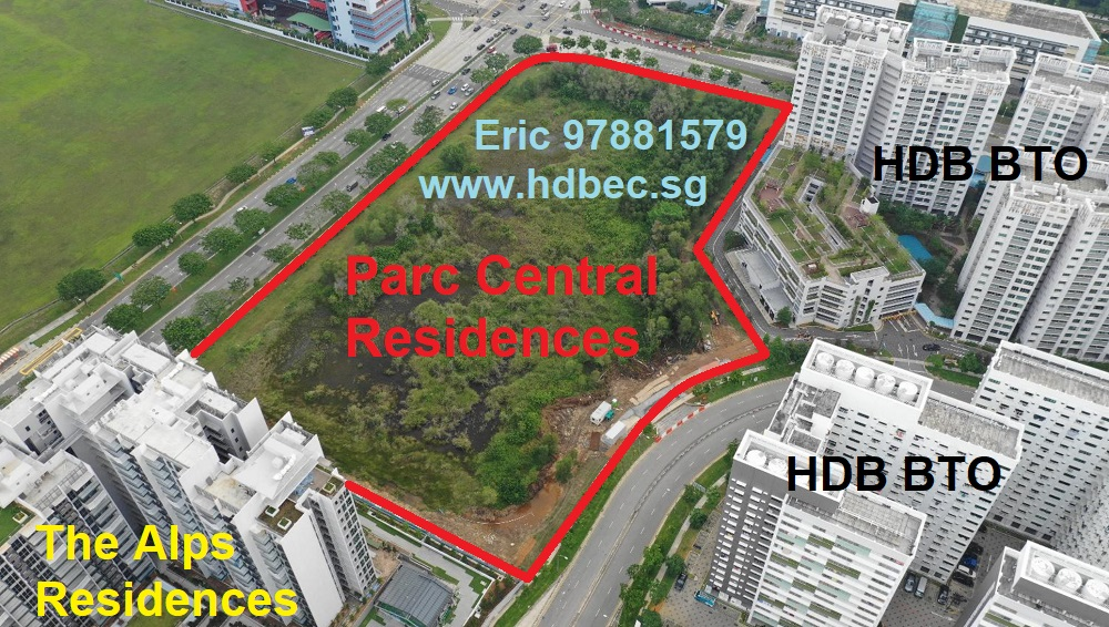 Parc Central Residences Tampines Ave 10 EC Location