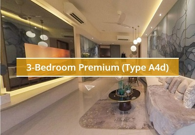 Piermont Grand 3 Bedroom Premium Type A4d Showflat Virtual Tour