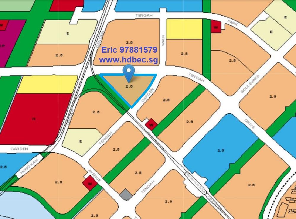 Tengah Garden Walk EC Master Plan