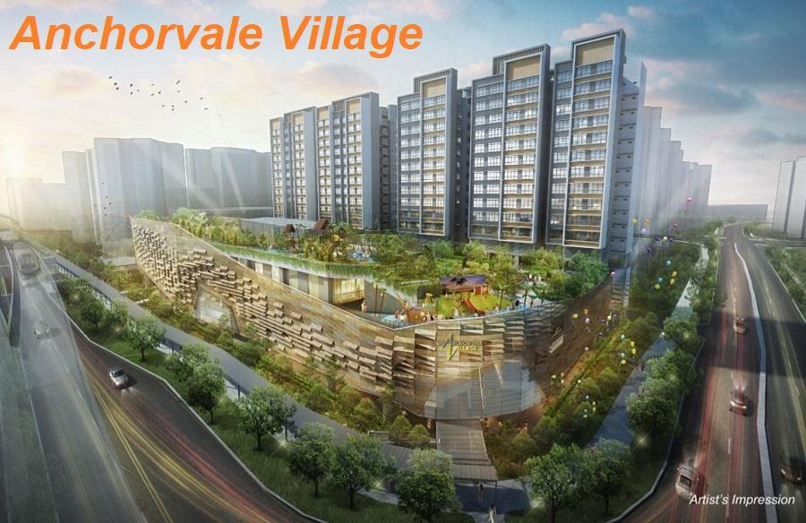 HDB-Anchorvale-Village_Hawker Centre