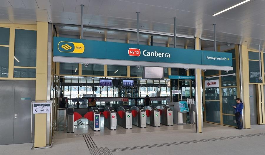 Canberra MRT Station near Provence Residence EC