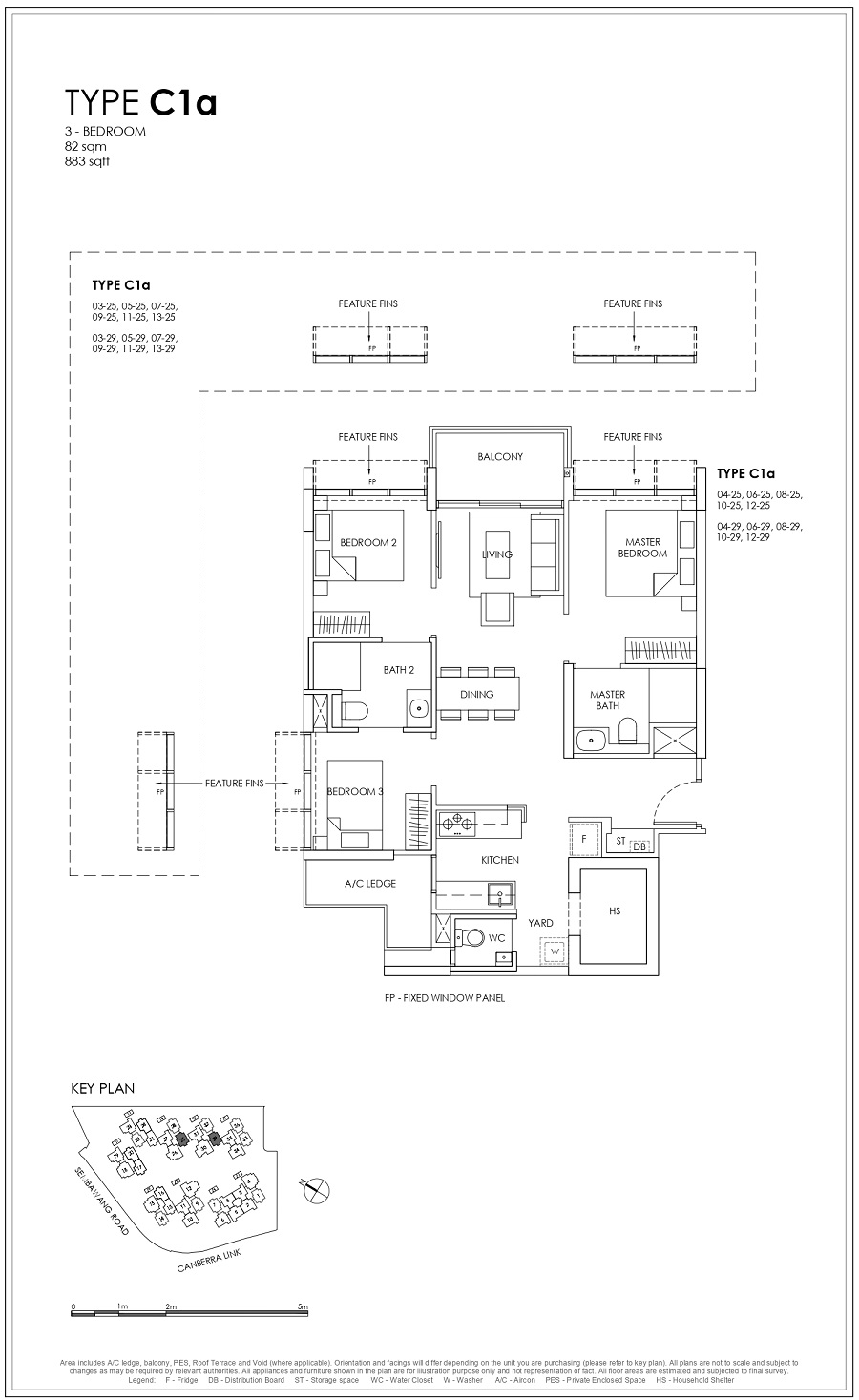 Provence Residence EC 3BR Type C1a 82_883