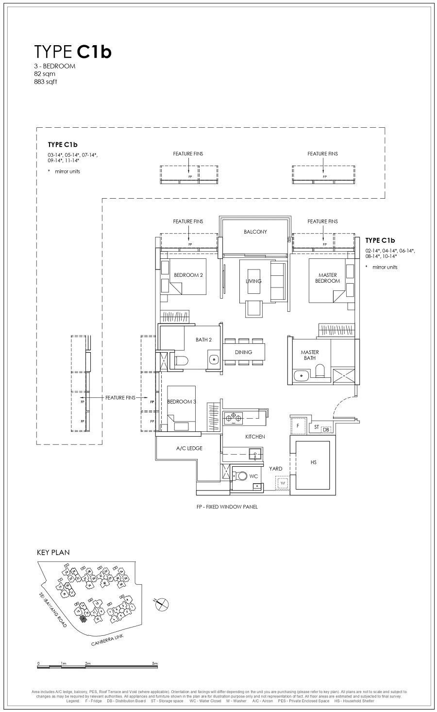 Provence Residence EC 3BR Type C1b 82_883