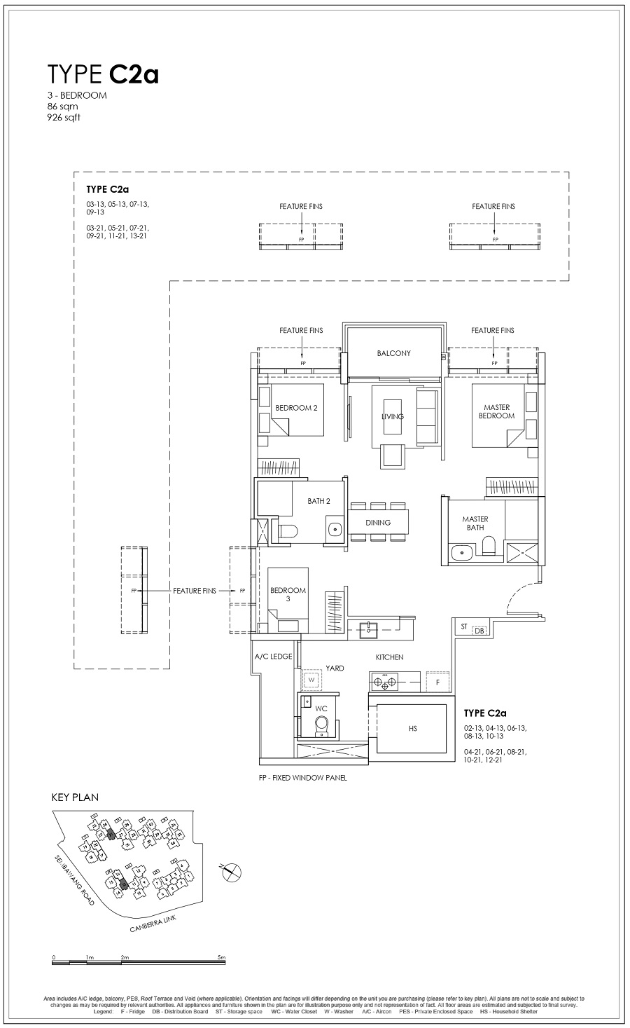 Provence Residence EC 3BR Type C2a 86_926