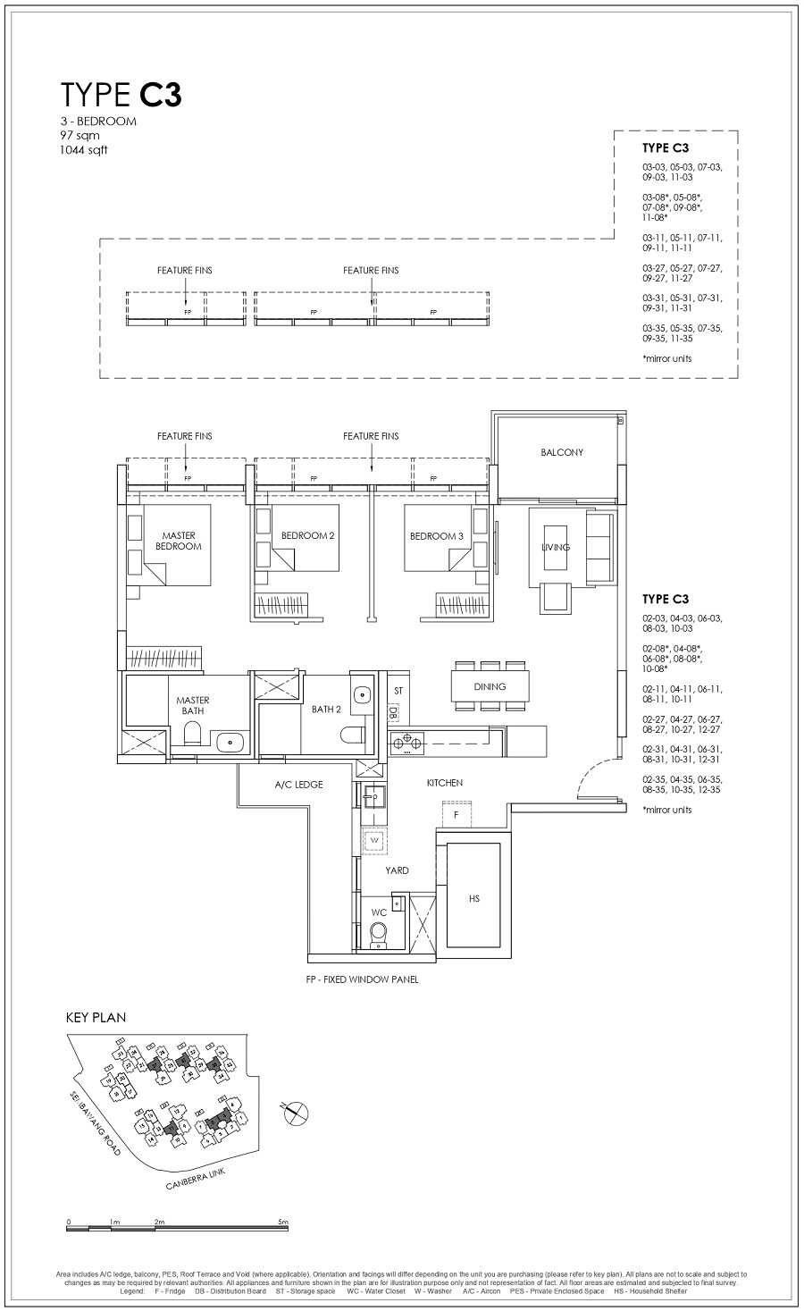 Provence Residence EC 3BR Type C3 97_1044