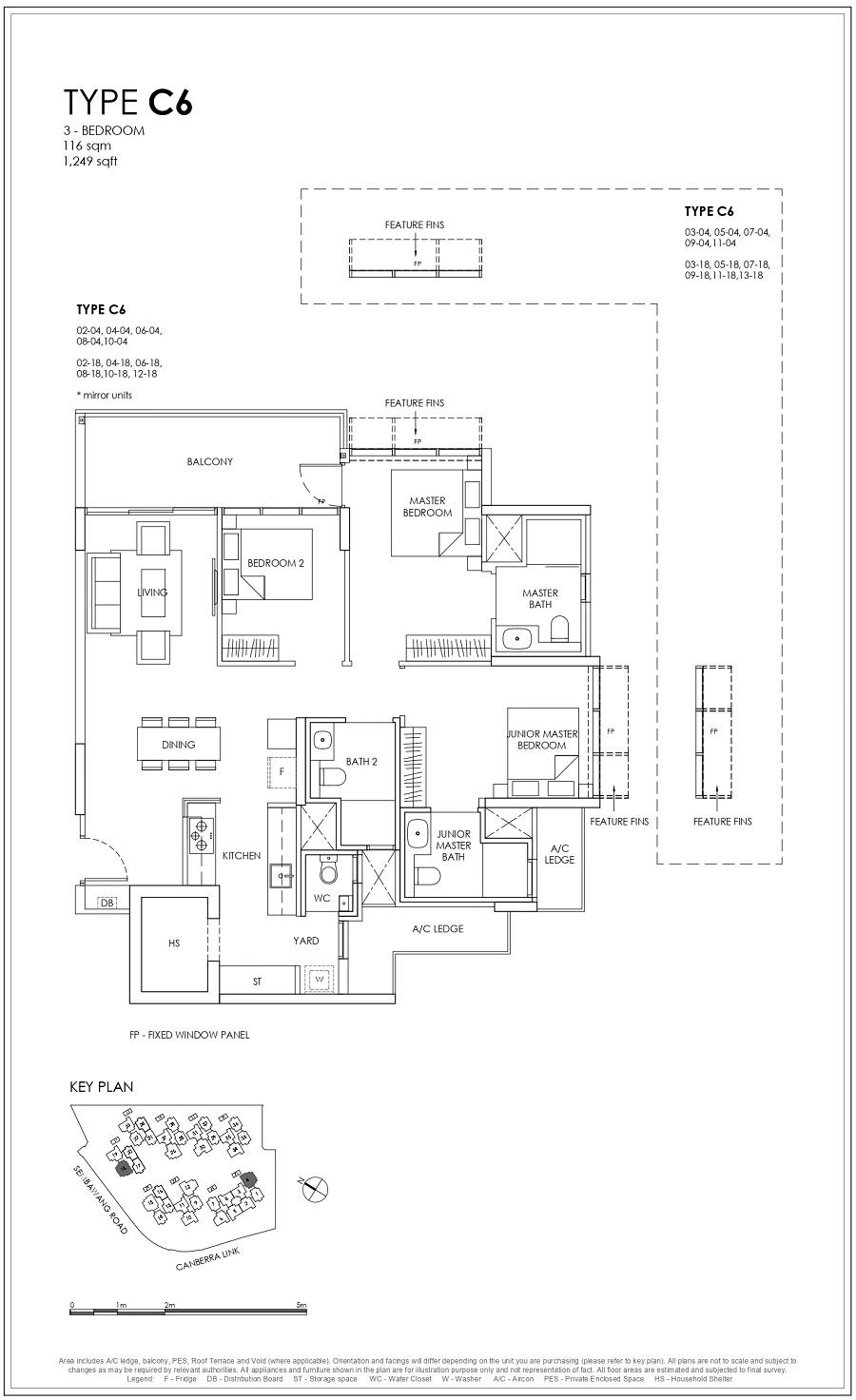 Provence Residence EC 3BR Type C6 116_1249