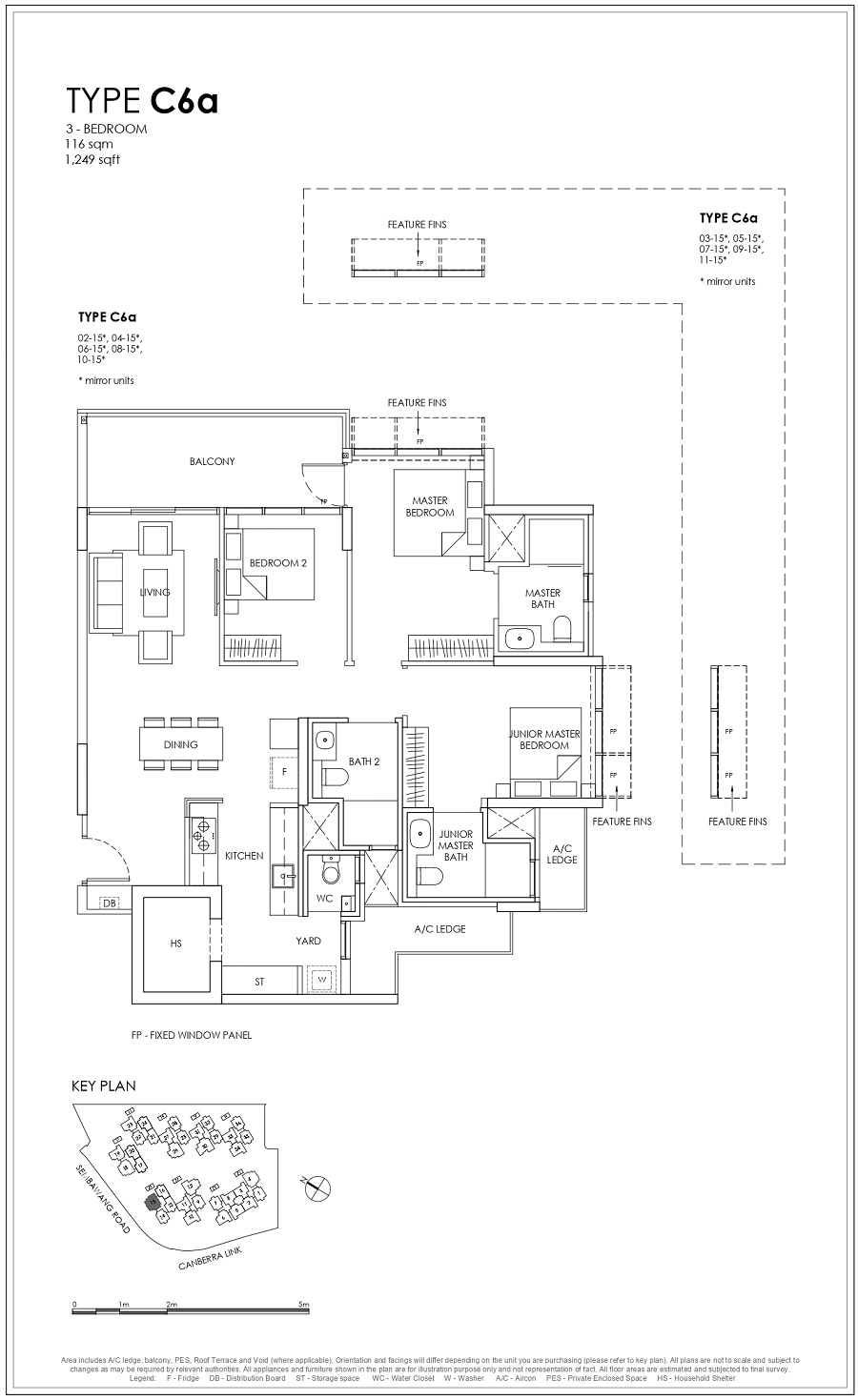 Provence Residence EC 3BR Type C6a 116_1249