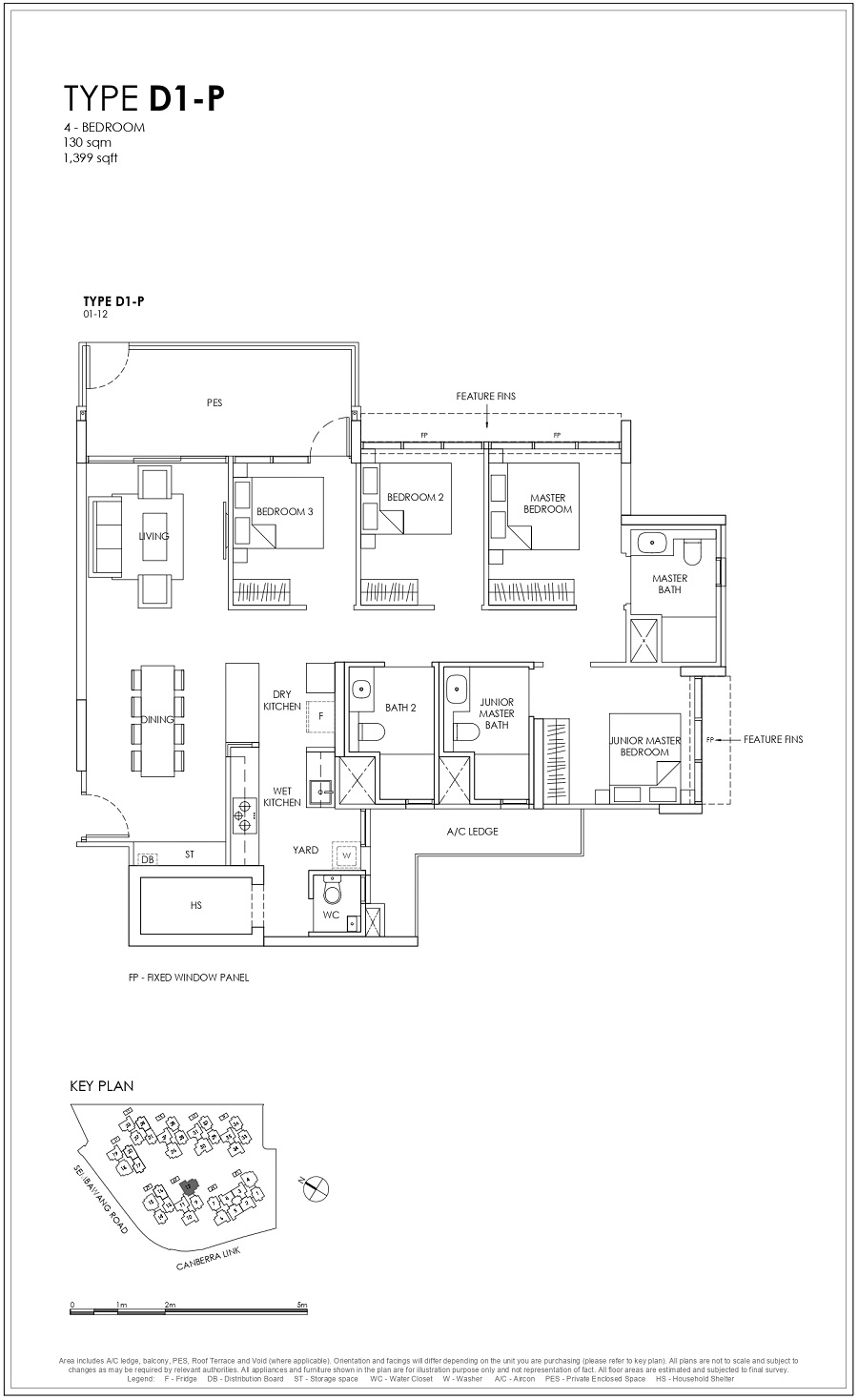 Provence Residence EC 4BR Type D1-P 130_1399