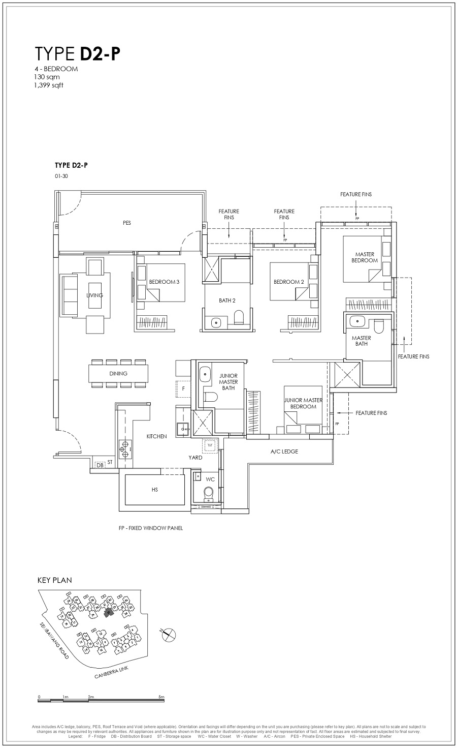 Provence Residence EC 4BR Type D2-P 130_1399