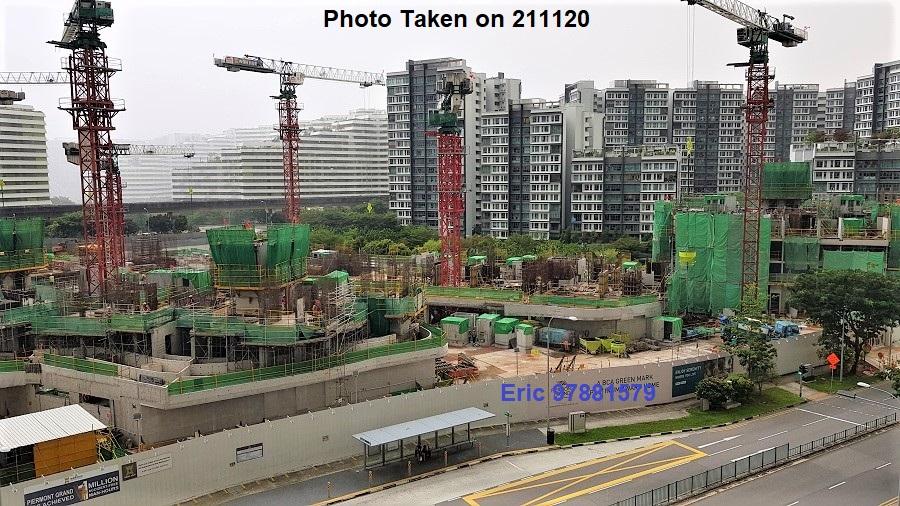 Piermont Grand EC at Punggol Site Photo Taken on 141120_3