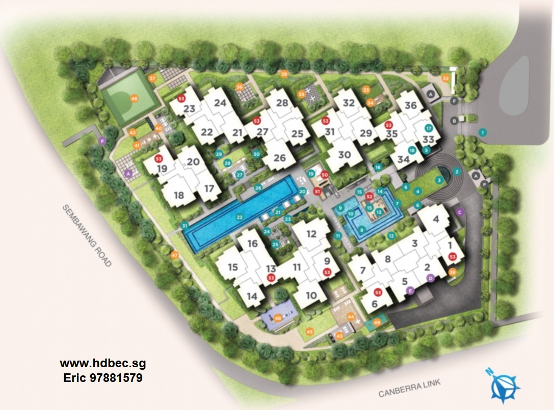 Provence Residence EC Site Plan & Facilities_1