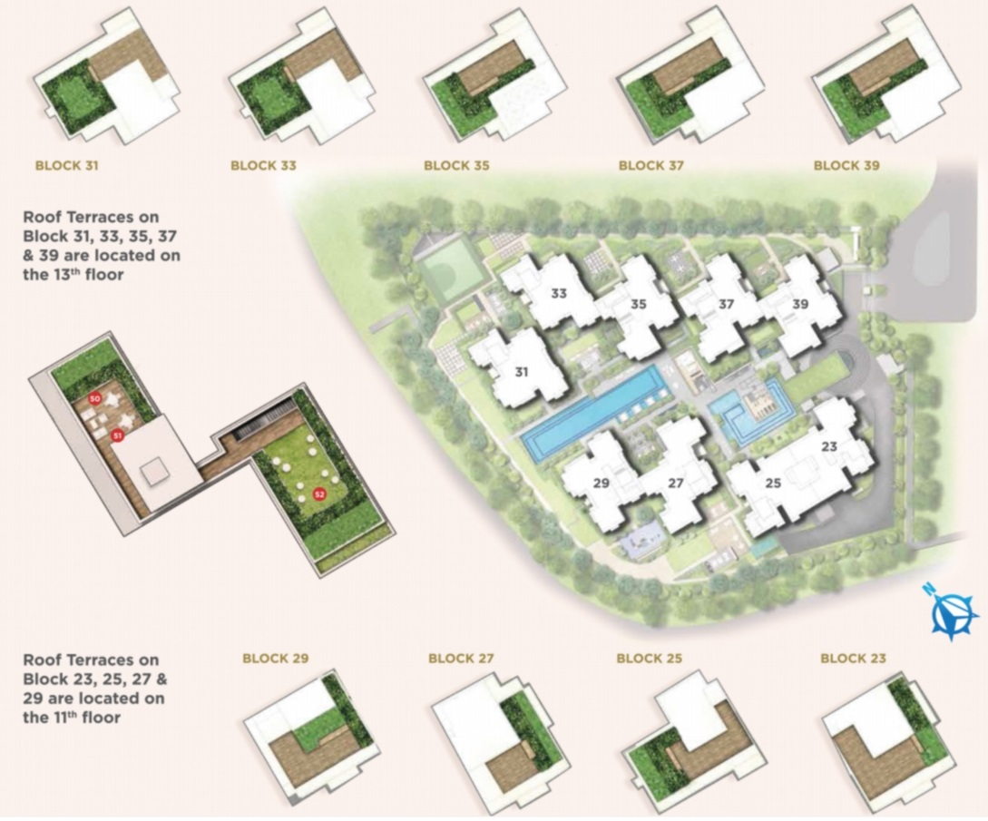 Provence Residence EC Site Plan & Facilities_3