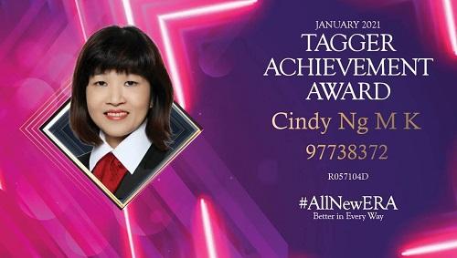 Cindy Ng 97738372 Tagger Achievement Award Jan 2021