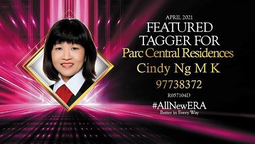 Cindy Ng 97738372 Tagger Achievement Award April 2021