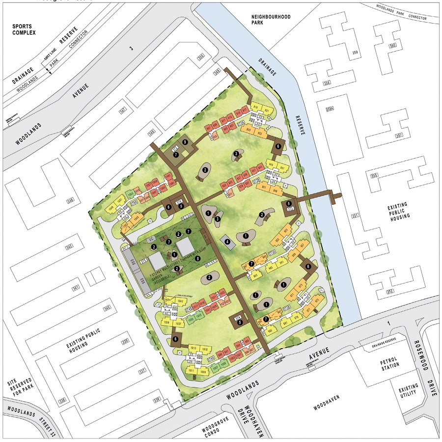 HDB BTO May 2021 Woodgrove Ascent Site Plan