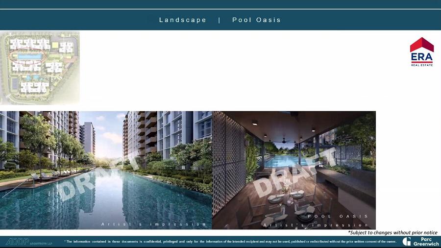 Parc Greenwich 50m Oasis Pool