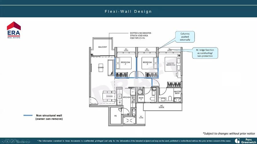 Parc Greenwich Flexi-Wall Design_1