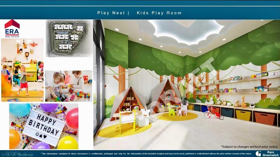 Parc Greenwich Kids Play Room
