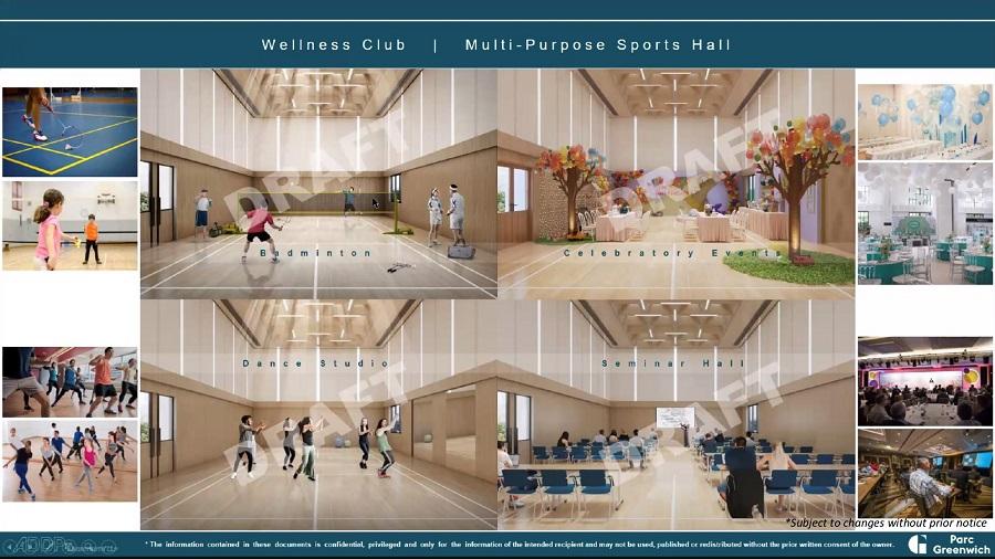 Parc Greenwich Multi-Purpose Sports Hall