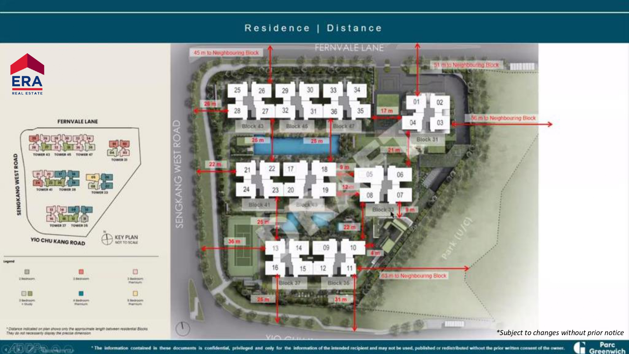 Parc Greenwich Residence Distance