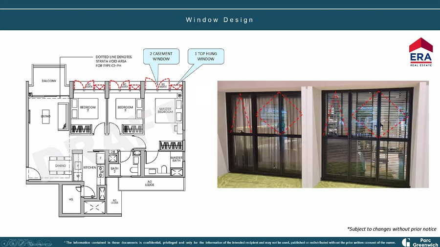 Parc Greenwich Window Design